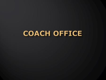  The coach office is a site that keeps track of pretty much everything that has to do with your business.  It also has excellent training and support.