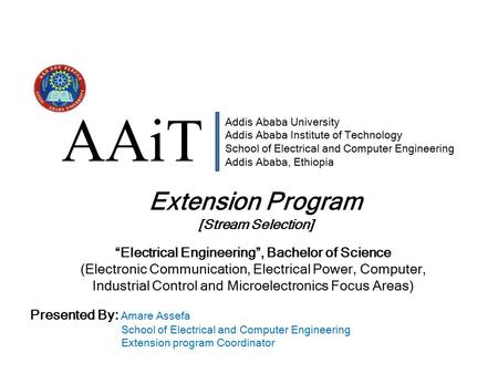 """Electrical Engineering"", Bachelor of Science"