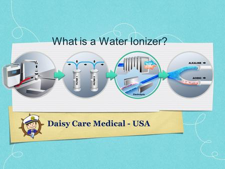 What is a Water Ionizer? Daisy Care Medical - USA.