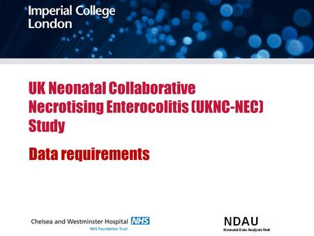 UK Neonatal Collaborative Necrotising Enterocolitis (UKNC-NEC) Study