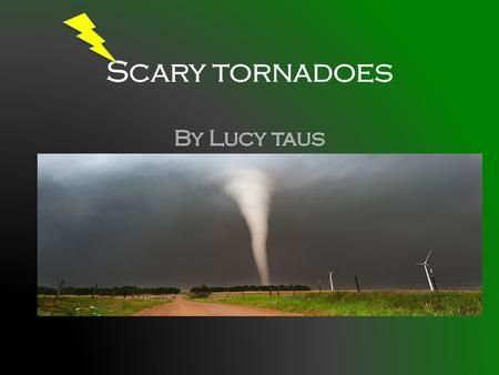 What is a tornado A tornado is a funnel cloud that spins from a thunder storm. When the funnel cloud reaches the ground it is called a tornado. A funnel.