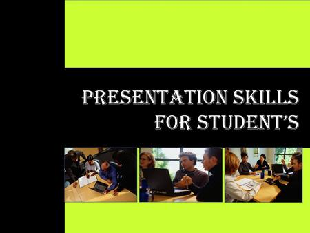 1 Presentation Skills for STUDENT's. 2 CONTENT 1.Developing Great CONTENT DESIGN 2.Preparing Great DESIGN DELIVERY 3.Conducting Great DELIVERY Contents.