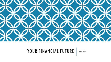 YOUR FINANCIAL FUTURE REVIEW. CREDIT & DEBT COSTS OF USING CREDIT  Interest can be costly when the balance is revolved  Additional penalty or fees 