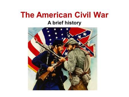 a brief history of the civil war in the united states and the reconstruction and how it changed the  American history since 1865: major events and trends posted by nicole smith one of the first major events in america after the civil war was the period of reconstruction a period of rapid industrialization ensued in major cities across the united states.