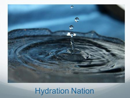 Hydration Nation. AZ Geo Map AZ Water Basins Colorado River.
