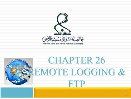 Chapter 26 remote logging & Ftp