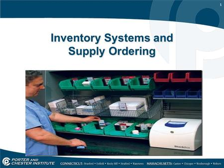 1 Inventory Systems and Supply Ordering. 2 Inventory Systems and Ordering Supplies List of the stock and assets in the dental office Inventory includes.