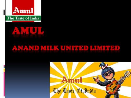 Amul Anand Milk United Limited