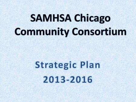 Whose Plan? A Consultative process of almost 200 stakeholders and significant Input Approved by SCCC Council in April 2013.