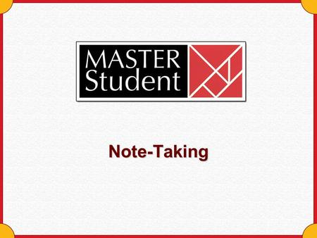 Note-Taking. Copyright © Houghton Mifflin Company. All rights reserved.Note-taking - 2 The Note-Taking Process Flows Review Record Observe Notes.