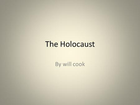 The Holocaust By will cook. In this picture it could describe how the Jewish resistance fought for the safety of the own people and i also represents.