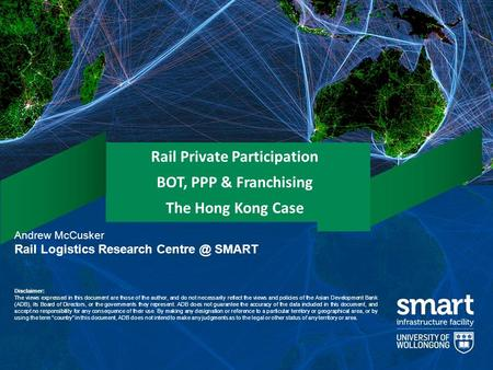 Rail Private Participation