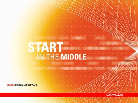 Oracle Fusion Middleware for SMBs Oracle Application Server 10 g Standard Edition One.