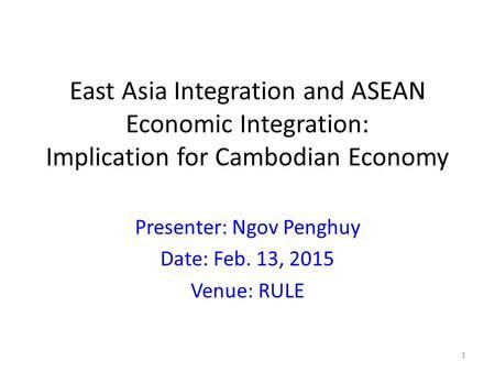 economic east integration asian