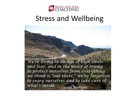 Stress and Wellbeing. Stress and Wellbeing Effects Productivity Engagement Relationships Performance Commitment to workplace Mental health Emotional health.