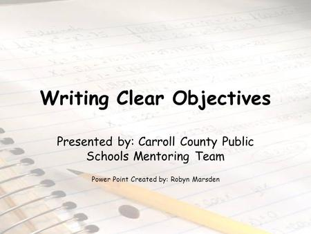 Objectives of essay wrtting