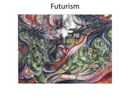 Futurism. Futurism was an artistic and social movement that originated in Italy in the early 20th century. Umberto Boccioni ~ Development of a Bottle.