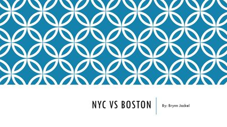 NYC VS BOSTON By: Brynn Jackel. CAREER: MARKETING MANAGER City:New York City (Manhattan), NYBoston, MA Monthly Salary$61,000$56,000 Rent for 1-Bedroom.