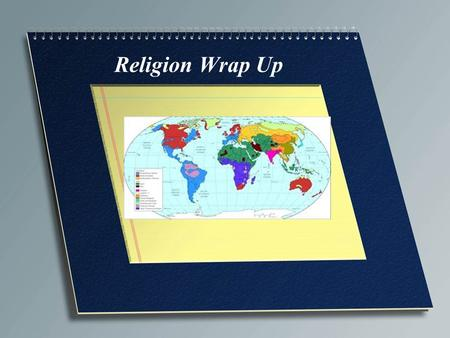 Religion Wrap Up. Branches of Christianity Roman Catholic (51%) Protestants (24%) Orthodox (11%)