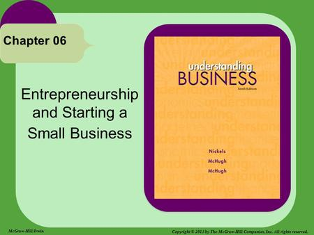 <strong>Entrepreneurship</strong> <strong>and</strong> Starting a