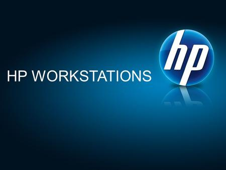 HP WORKSTATIONS. ©2009 HP Confidential2©2010 HP Confidential NDA until March 22, 20102 Revolutionizing your return on innovation MEET THE NEW HP Z WORKSTATIONS.