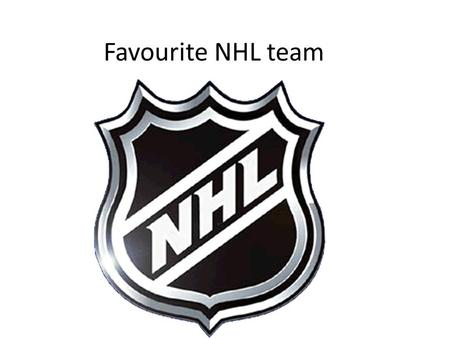 Favourite NHL team. Vancouver has 23.8% of all the votes.