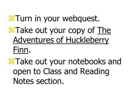 huck finn in education Use cliffsnotes' the adventures of huckleberry finn study guide today to ace your next readers meet huck finn after he's been taken in by widow douglas and her.