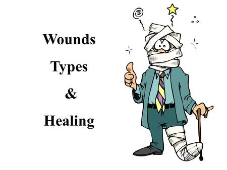 Wounds Types & Healing.