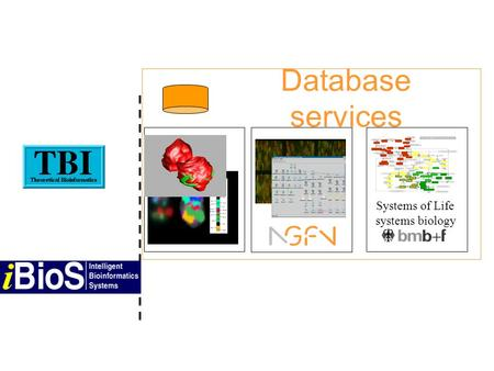 Systems of Life systems biology Database services.
