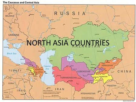 NORTH ASIA COUNTRIES.