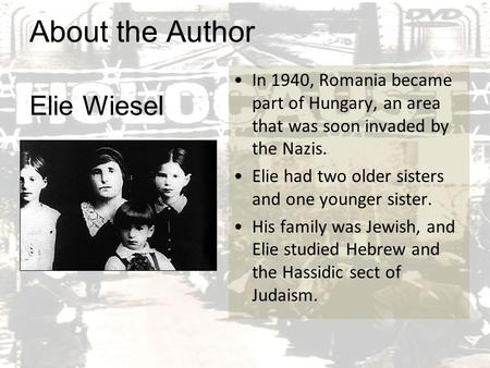 an analysis of the holocaust in night by elie wiesel