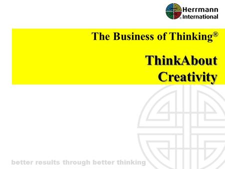ThinkAbout Creativity