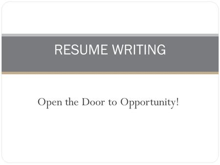 tips for resume writing primary purpose a resume will get