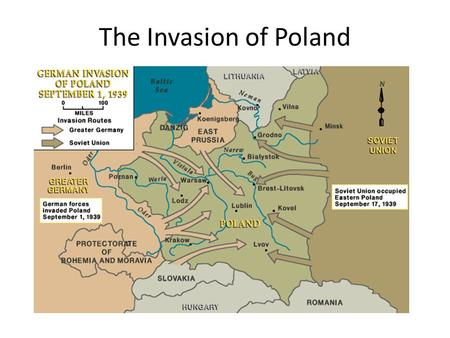 The Invasion of Poland.