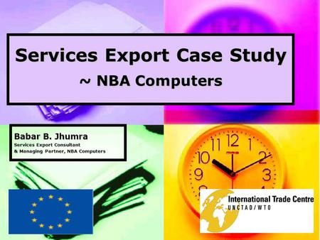 Services Export Case Study ~ NBA Computers