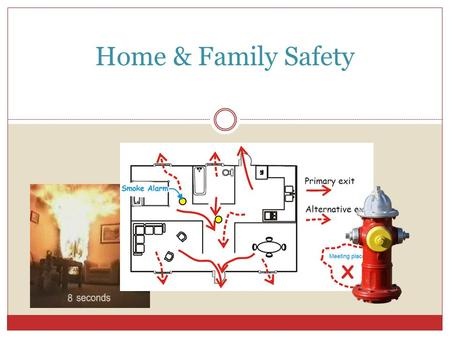 Home & Family Safety. Things to Think About… Would you what to do if a fire started in your home? Have you practiced what to do in case of a fire? Do.