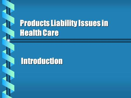 examples of product liability issues What are the consequences of this product liability litigation explosion  but  also an issue of substantial impact on the very nature of doing business for  the  list of examples of products no longer sold or never developed is.
