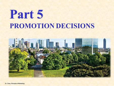 Part 5 PROMOTION DECISIONS