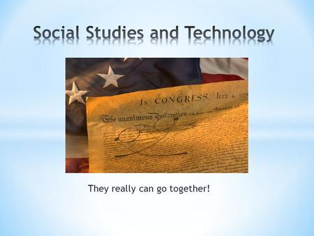They really can go together!. The tools that I show you today are not geared towards any grade specifically. They are general social studies sites that.