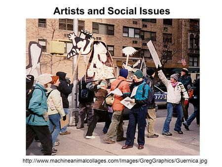 Artists and Social Issues