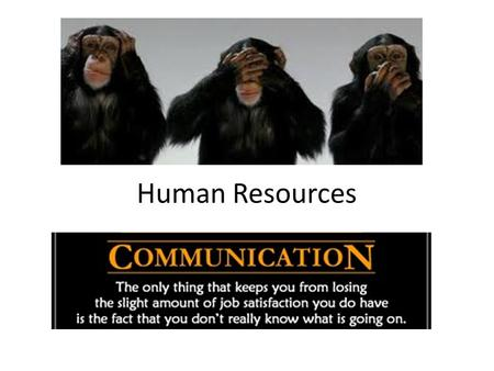 Human Resources. To understand what are meant by effective communication and feedback Analyse the advantages and disadvantages of different communication.