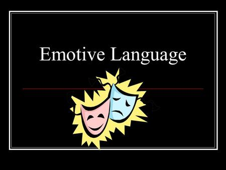 Emotive Language. Jot down words that: 1.Create sympathy for the dog 2.Create anger at its treatment.