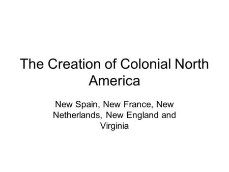 a review of the spanish frontier in north america The spanish frontier in north america weber's book would reveal the spanish roots and influence in north america book reviews: the spanish frontier in north.