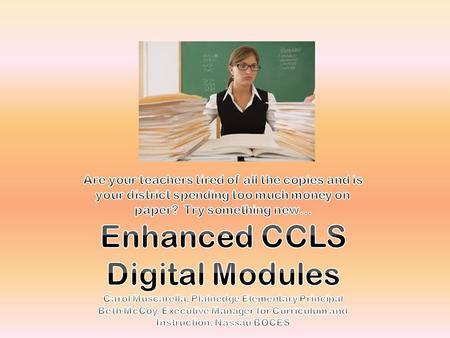 Content License This license provides the teacher access to digital modules (for one course) as well as: All materials re-organized into lesson-based,