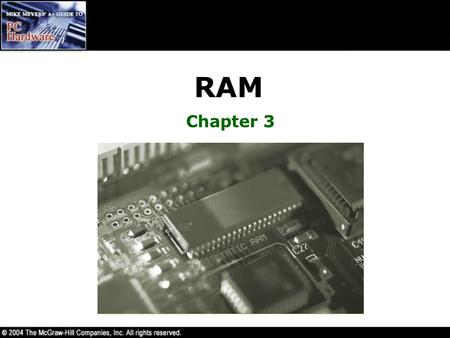 RAM Chapter 3.