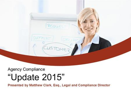 "Agency Compliance ""Update 2015"""
