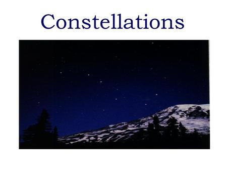 Constellations Stars as Tools for Navigation  The North Star is called Polaris and located directly above the North Pole. This star appears in the same.
