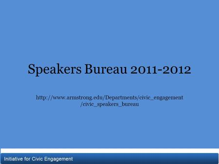 Speakers Bureau 2011-2012  /civic_speakers_bureau.