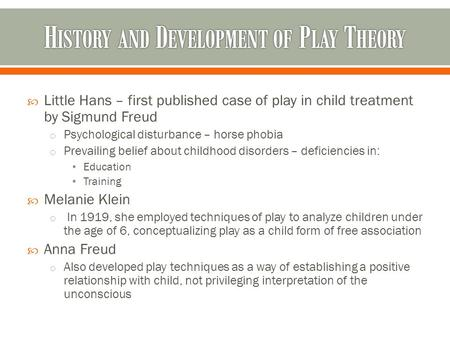Gestalt play therapy training