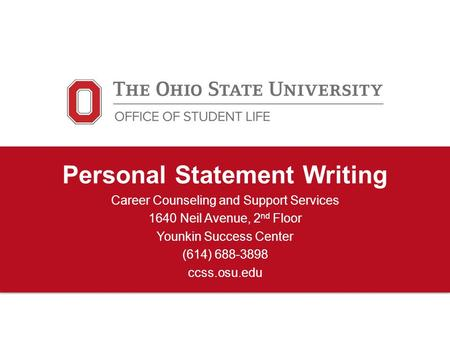cornell employment expertise personalized statement
